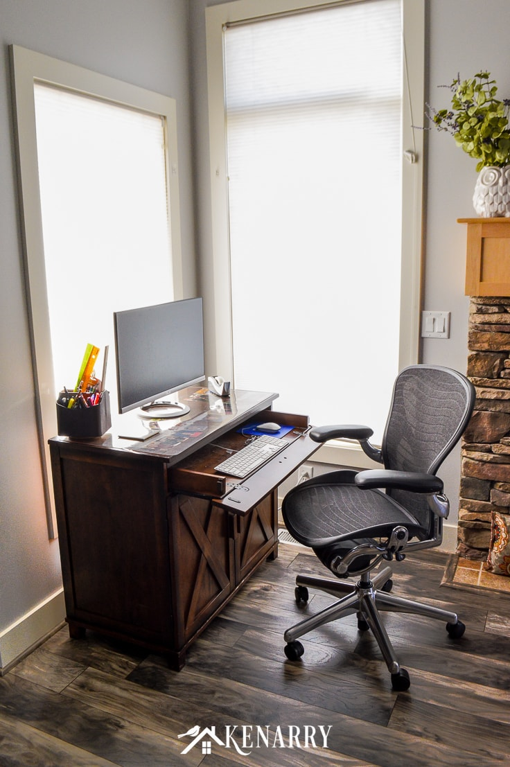 Farmhouse Style Office Chair Best Home Style Inspiration
