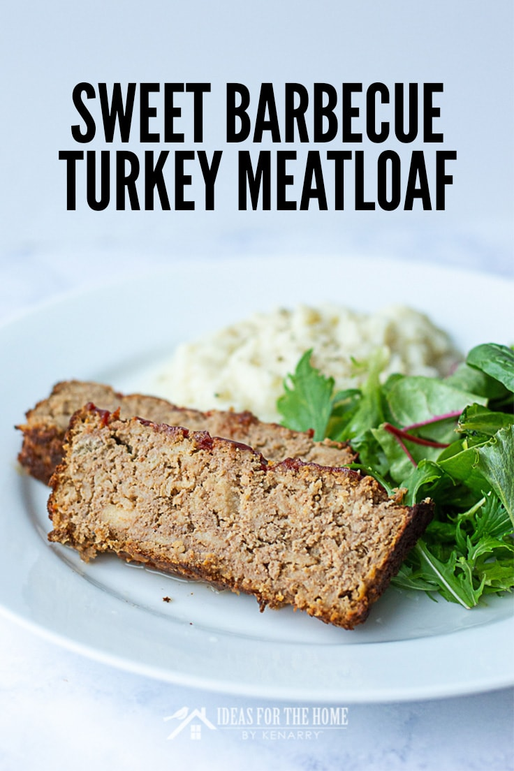 Sweet Barbecue Turkey Meatloaf recipe