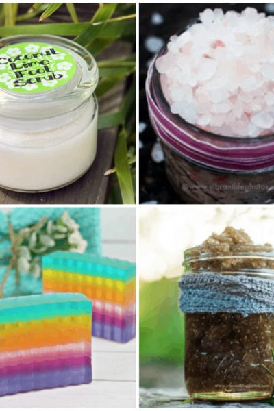 Pamper yourself or give these luxurious DIY beauty products as homemade gifts. From sugar scrubs to pretty soaps, you will find something new to make.