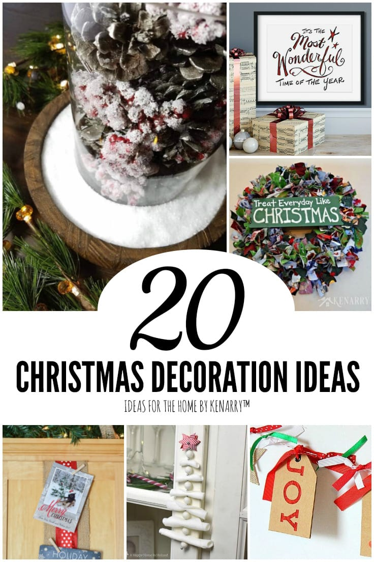 20 Christmas Decoration Ideas | Ideas for the Home by Kenarry