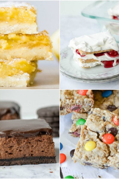 What are some easy potluck desserts that everyone will love? Check out this list of super simple desserts that will feed a crowd.