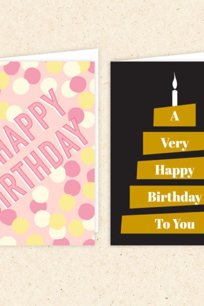 Preview of Free Printable Birthday Cards