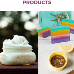 Luxurious DIY beauty products
