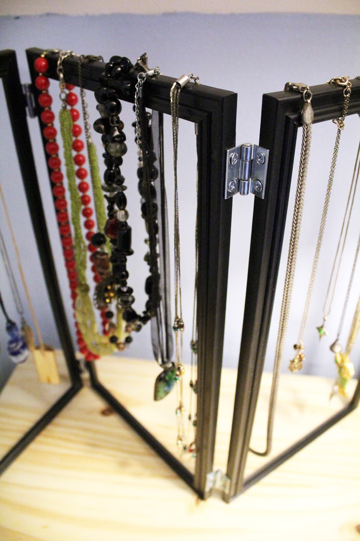 Jewelry Organizer Diy Dollar Store Hack Ideas For The Home