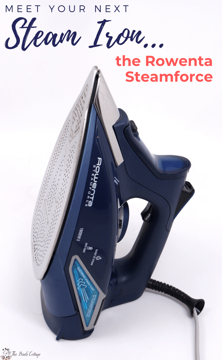 Meet your next Steam Iron the Rowenta Steamforce
