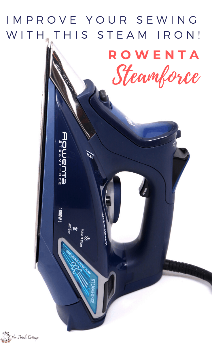 Improve your sewing with this steam iron! Rowenta Steamforce