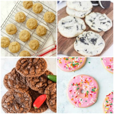 These are not your mama's cookies. These creative cookie recipes are fun for putting in your kid's lunchbox, selling at bake sales, or just to have at home.
