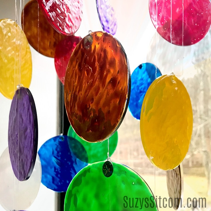 Easy to Make Stained Glass Sun Catcher