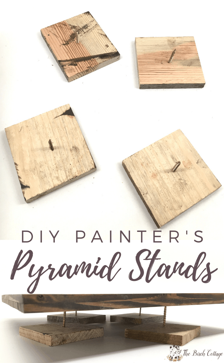 DIY Painter's Pyramid Stands