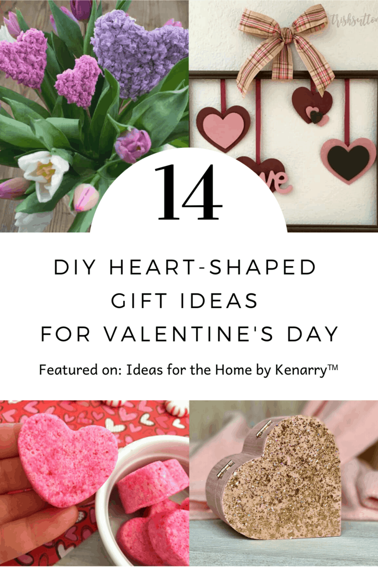14 DIY heart-shaped gift ideas for Valentine's day