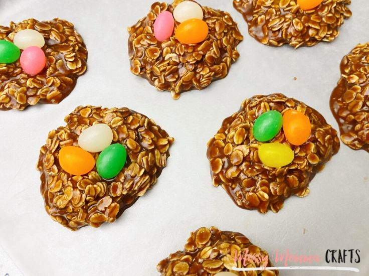 My No Bake Bird's Nest Cookies are just like the classics but with a fun Easter twist. They don't require much but taste and look amazing.