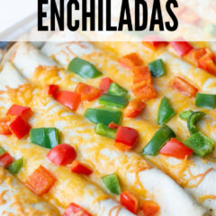 Easy Breakfast Enchiladas