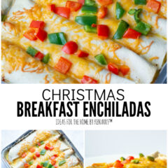 Christmas Breakfast Enchiladas