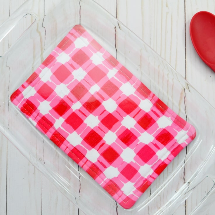How to Sew a Hot Pad for Casserole Dishes