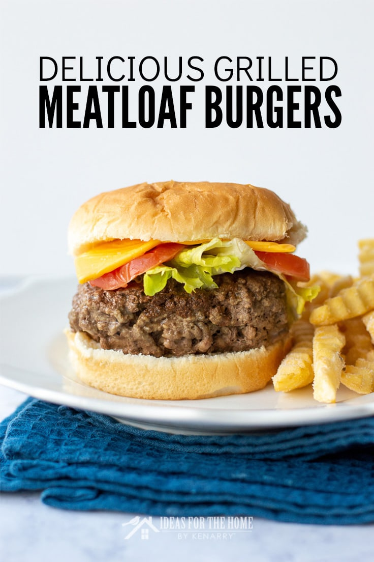 Delicious Grilled Meatloaf Burgers
