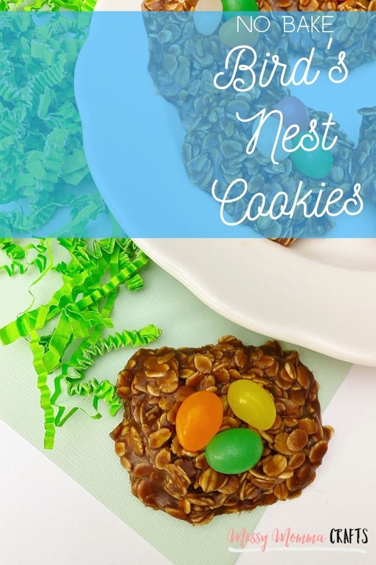 No-Bake Bird's Nest Cookies