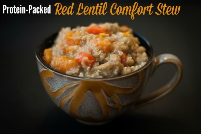 Red Lentil Comfort Stew