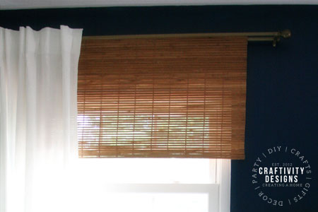 DIY Bamboo Blinds by Craftivity Designs