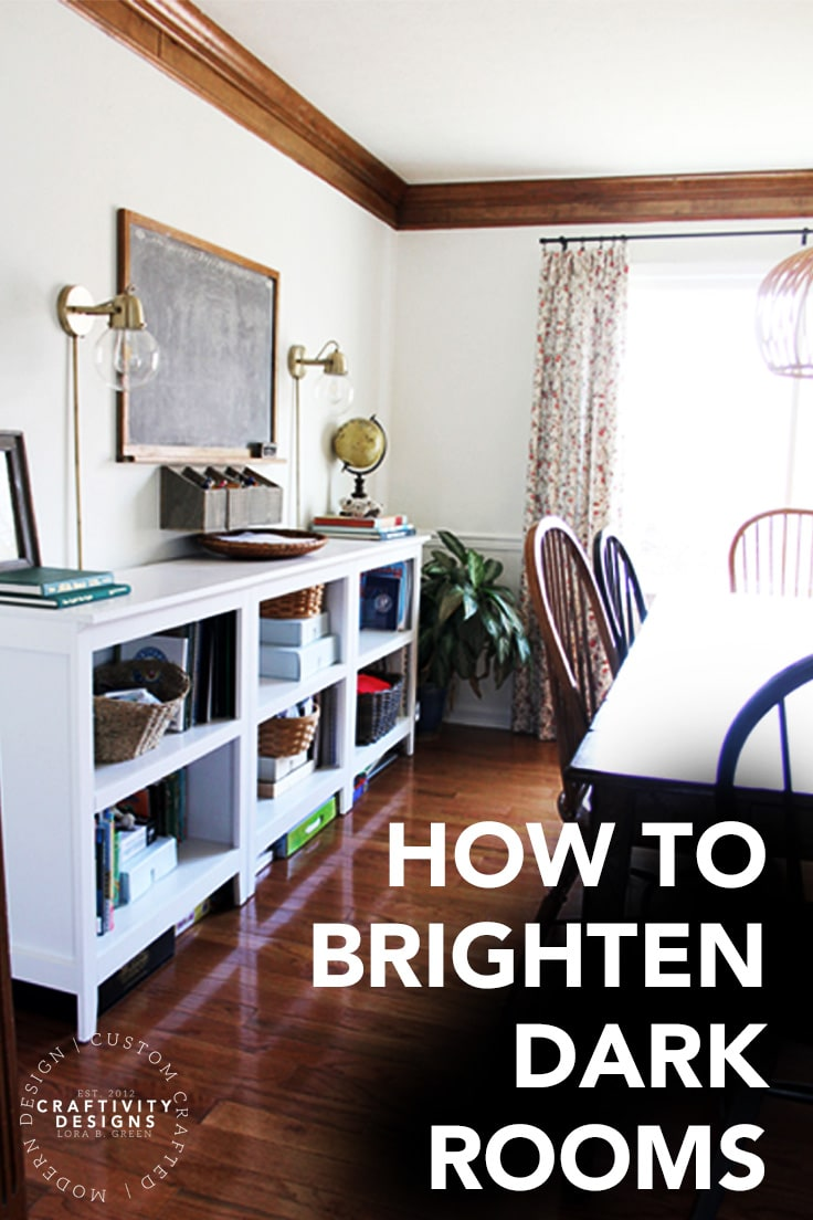 How to Brighten a Dark Room (Affordably!) | Ideas for the Home