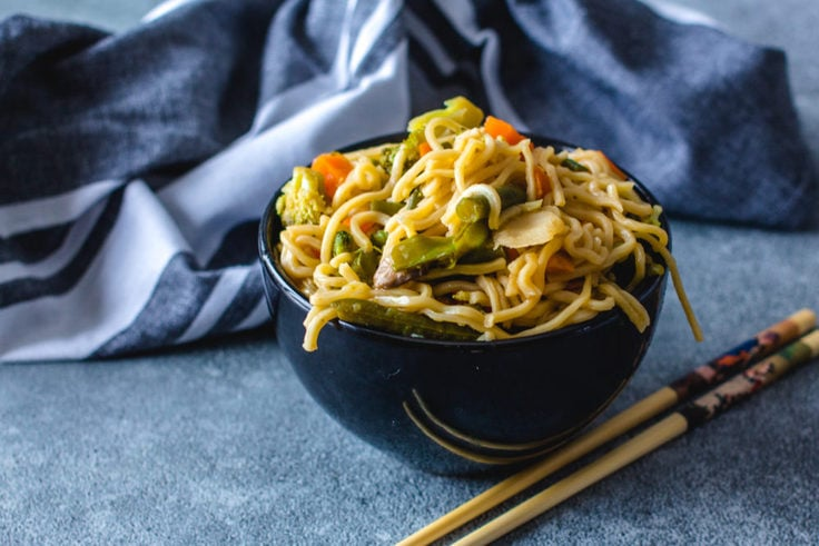Instant Pot Chow Mein