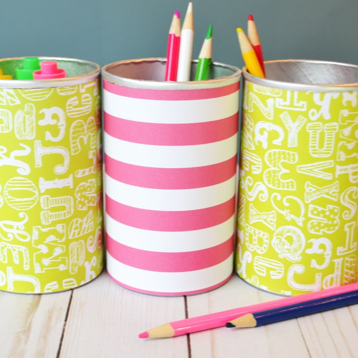 DIY Pencil Holder You Can Make for Almost Nothing