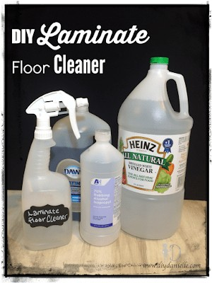 DIY Laminate Floor Cleaner