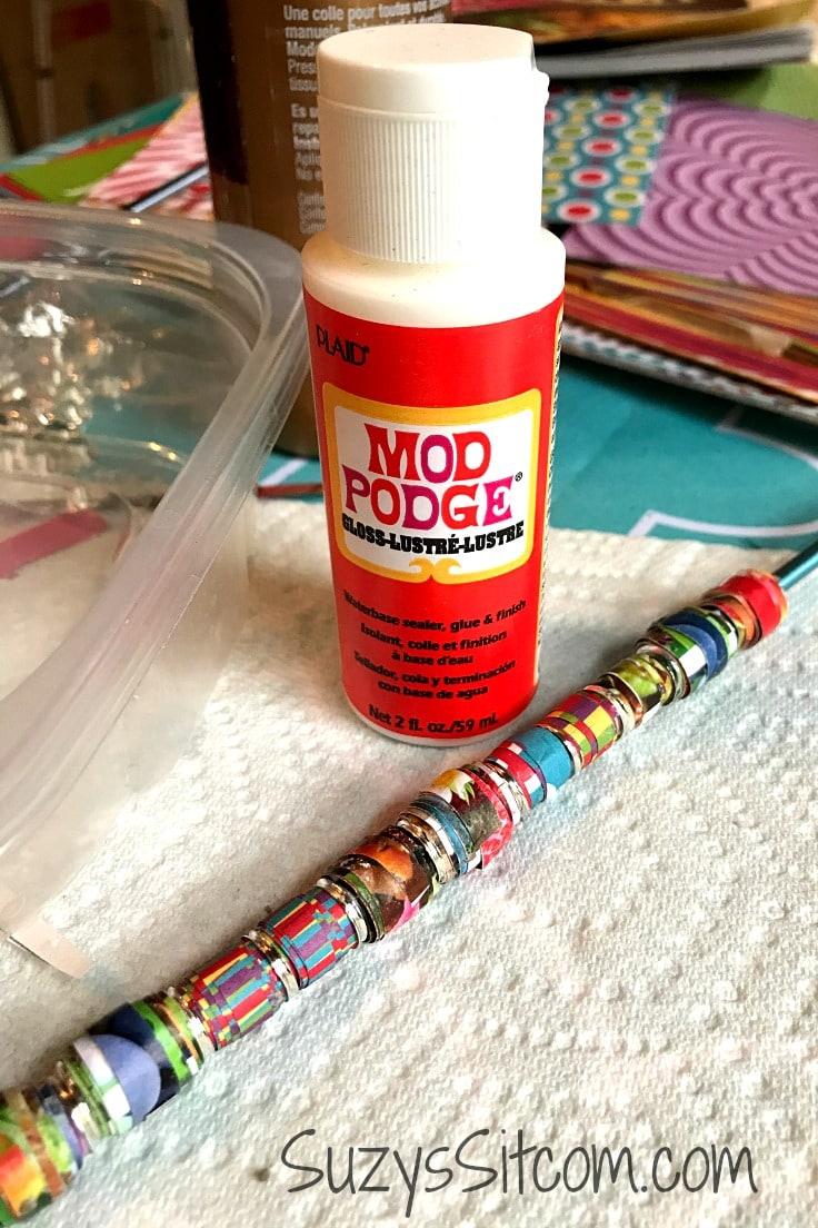 A bottle of Mod Podge