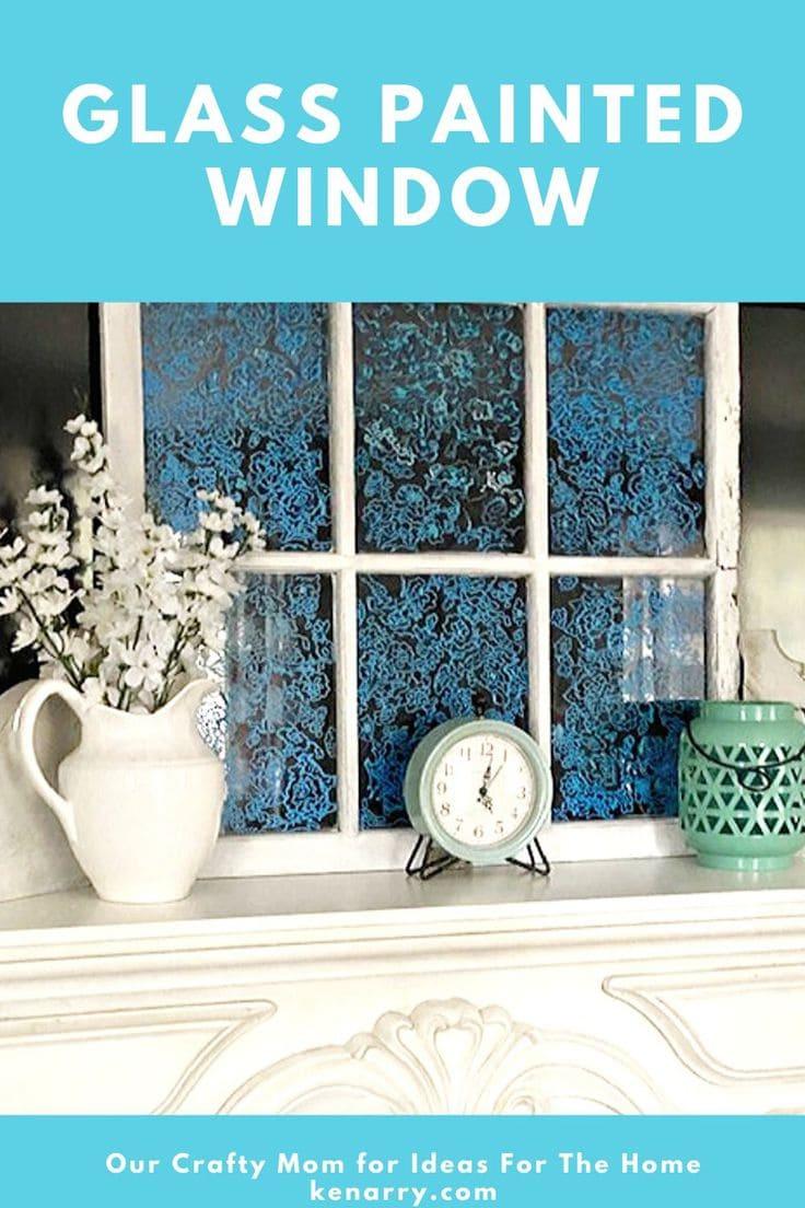 glass painted window pin image