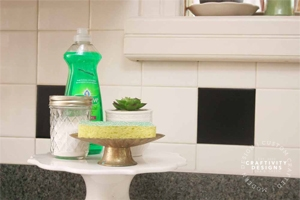 How to Keep the Kitchen Sink Clean and Organized by Craftivity Designs
