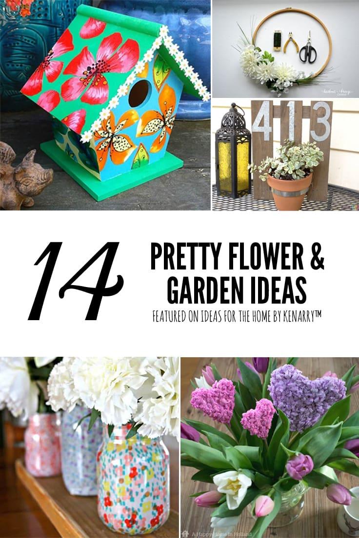 Pretty Flower & Garden Ideas
