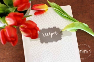 Simple and Quick Recipe Binder (free printable!) by Craftivity Designs