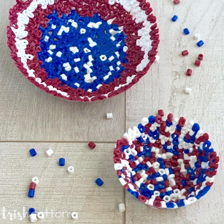 Perler Bead Bowl: An Easy Kids Craft Activity