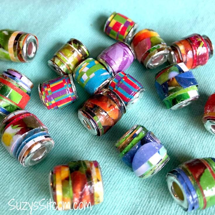 Create Beautiful Pandora Style Beads With Paper
