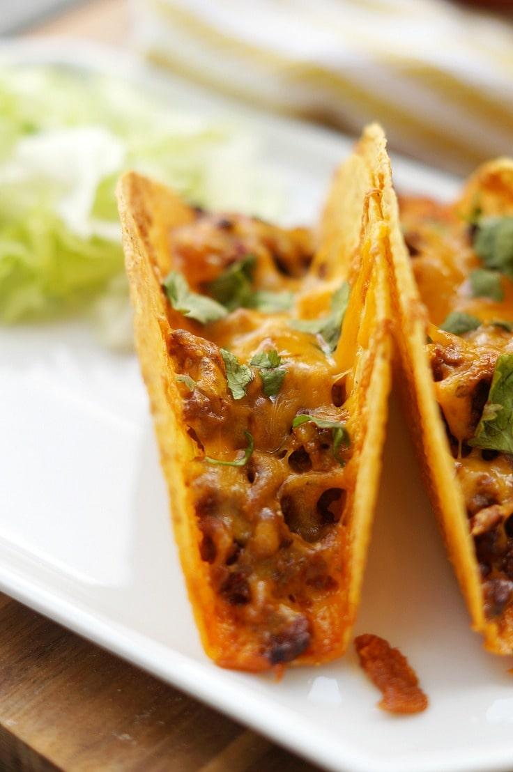 Beef Tacos close up