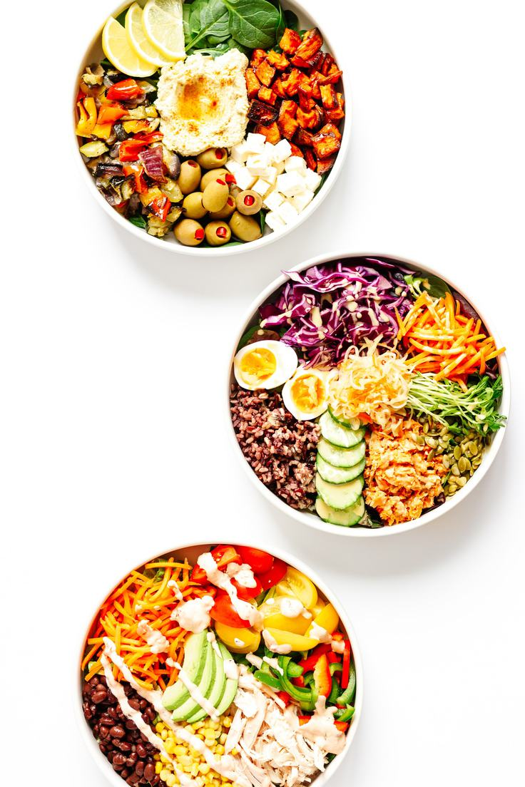 Three Nourish Bowls