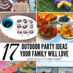17 Clever Outdoor Party Ideas