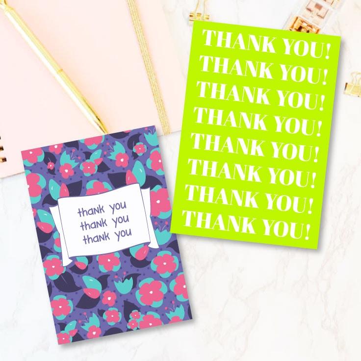 Free Thank You Card Printable