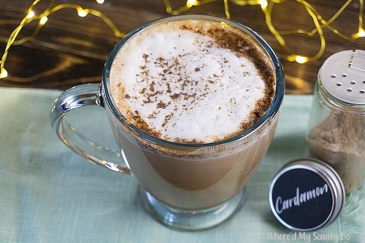Vanilla Cardamom Latte