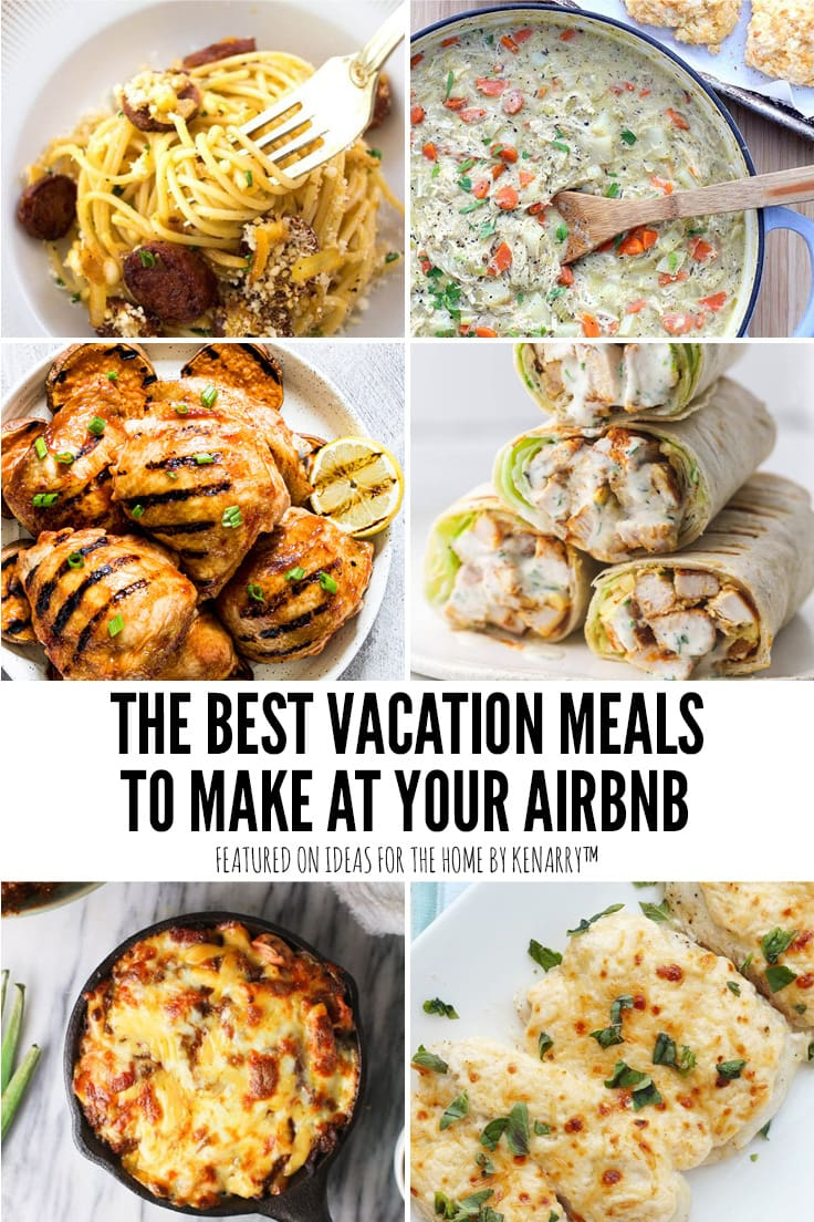 The Best Vacation Meals to Make at Your Airbnb