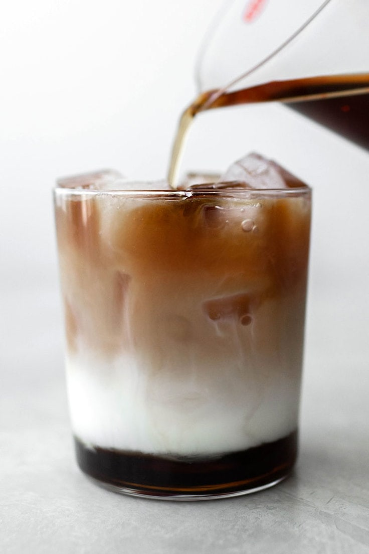 brown sugar iced latte