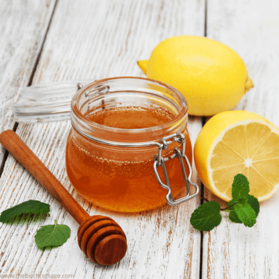 Homemade Lemon Infused Honey is so easy to make. Adorn your jars of lemon infused honey with these free printable labels - perfect for gift giving!
