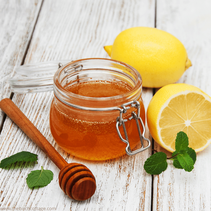 Lemon Infused Honey Recipe with Free Printable Labels
