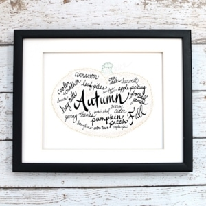 Autumn Printable Art - Digital Print