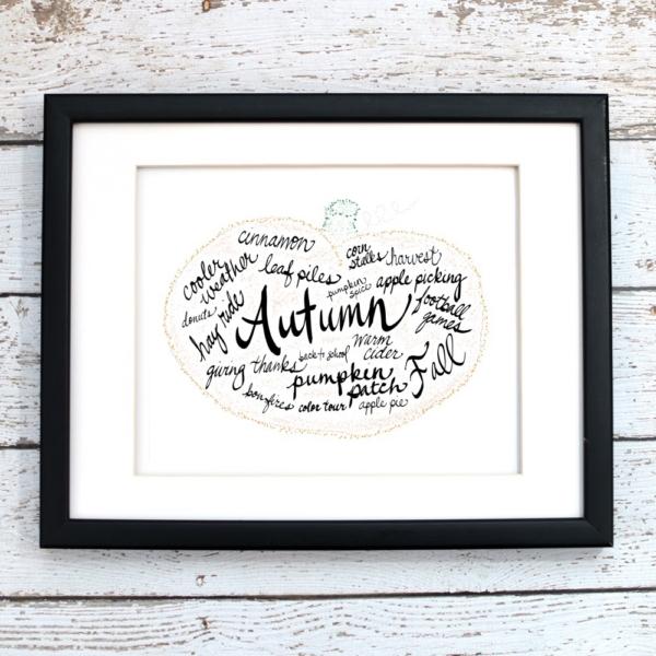 Autumn Printable Art - Digital Print