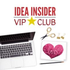 Idea Insider VIP Club