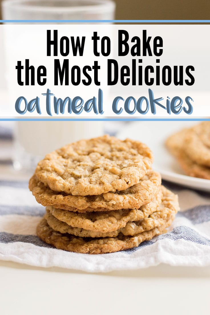 How to bake the most delicious oatmeal cookies