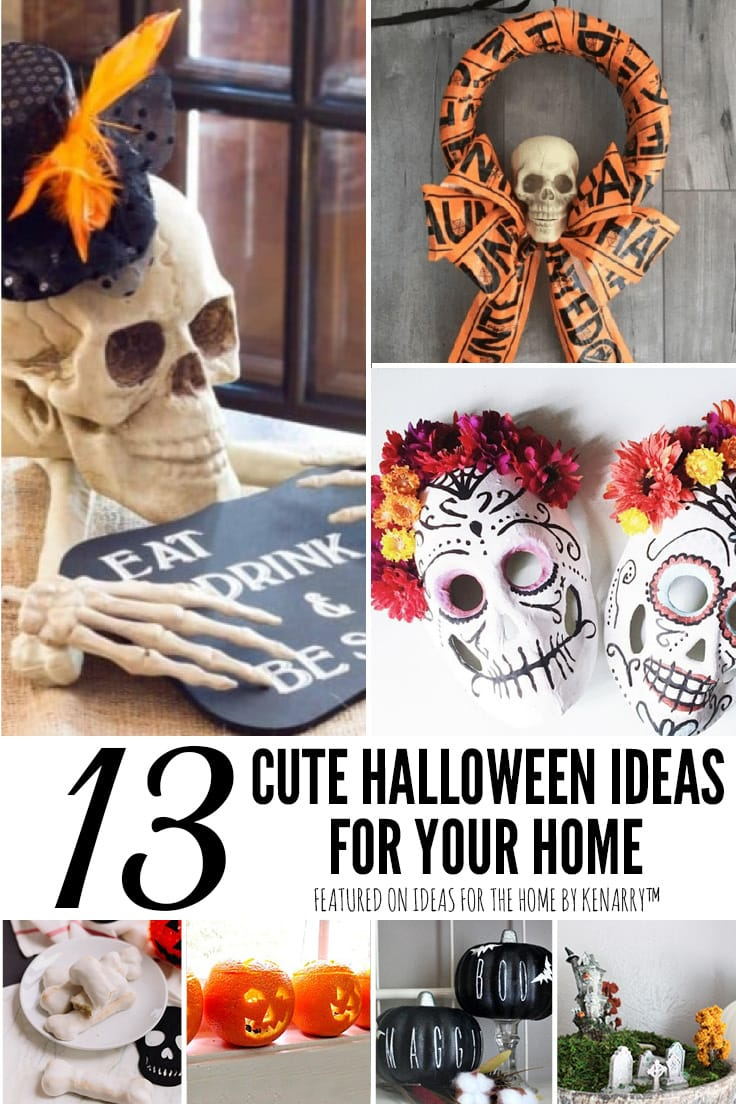 13 Cute Halloween Ideas for Your Home