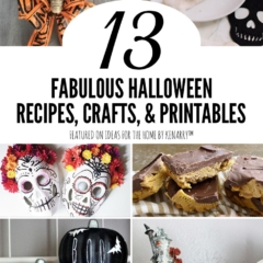 13 Fabulous Halloween Recipes, Crafts, and Printables