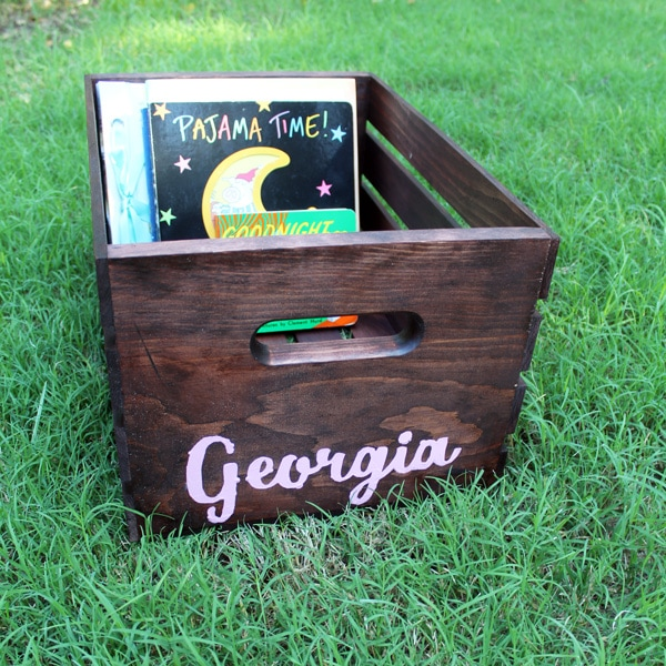 DIY Book Box from One Mama's Daily Drama