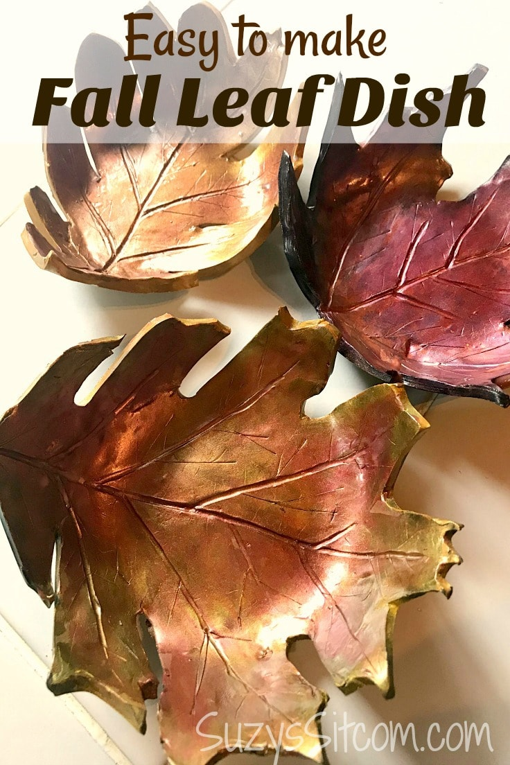 Easy to make fall leaf dishes